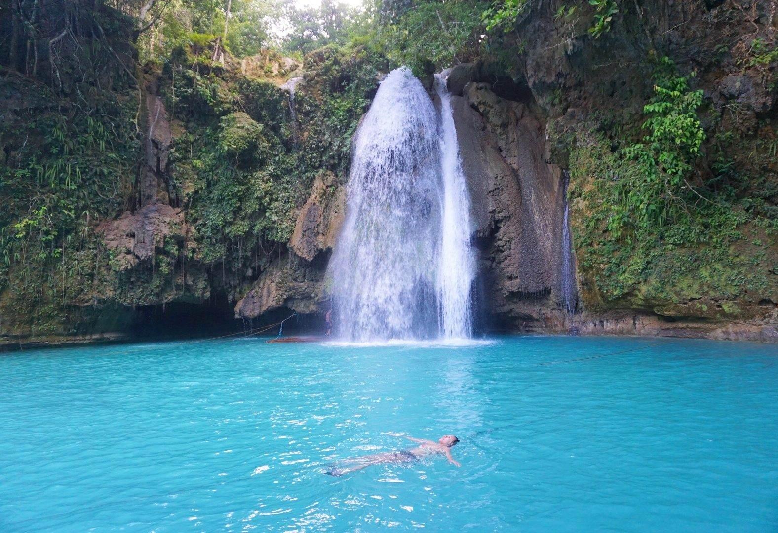 Kawasan Falls Cebu Philippines- CLIFF Jumping & Canyoneering